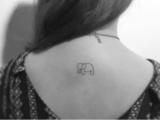 南昌纹身,纹身培训,超火的小图案纹身小清新风格大受女生欢迎
