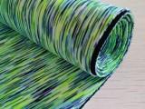 现货供应七彩健康布 涤氨夹层双面布料 瑜伽服运动服透气面料