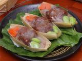 冷冻台湾食品葱香排骨酥方便食品350g 速冻食品料理年货厂家直销