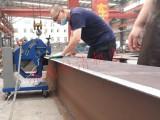 山东铣边机厂家GBM-16D-R翻转型厚板电动钢板坡口机环保