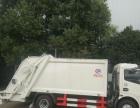 转让 平板运输车挂桶压缩式垃圾车年底厂家最低价