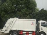转让 平板运输车挂桶压缩式垃圾车年底厂家低价