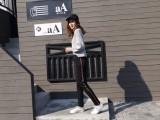 23元加绒大码运动裤女长裤秋冬款宽松休闲直筒裤外穿学生棉裤
