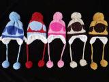 儿童帽子秋冬款宝宝护耳帽儿童卡通加绒帽子2015新款宝宝秋季帽子