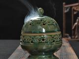 香炉香器 镂空香薰炉 佛教用品 陶瓷香器 艺术陶瓷香薰炉