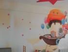 冷秋彩绘 提供专业手绘墙定制服务