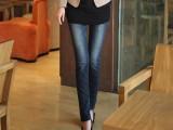 2013春装新款路哲兰弹力女式小脚裤铅笔中腰牛仔裤女裤一件代发