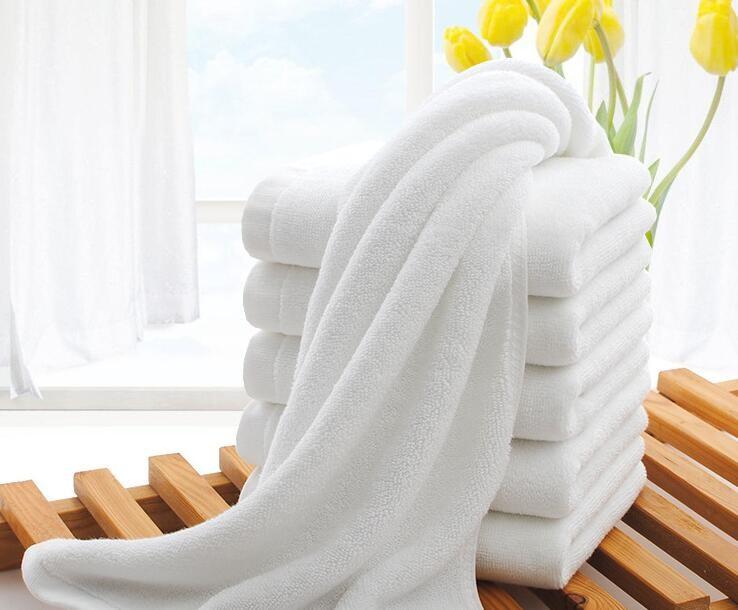 宾馆酒店纯棉毛巾浴巾厂家批发 白毛巾厂家批发价格