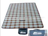 高级铝镆 格子野营垫 防潮垫 野餐毯