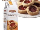 美国进口非凡农庄草莓味果酱曲奇饼干191g 下午茶点心