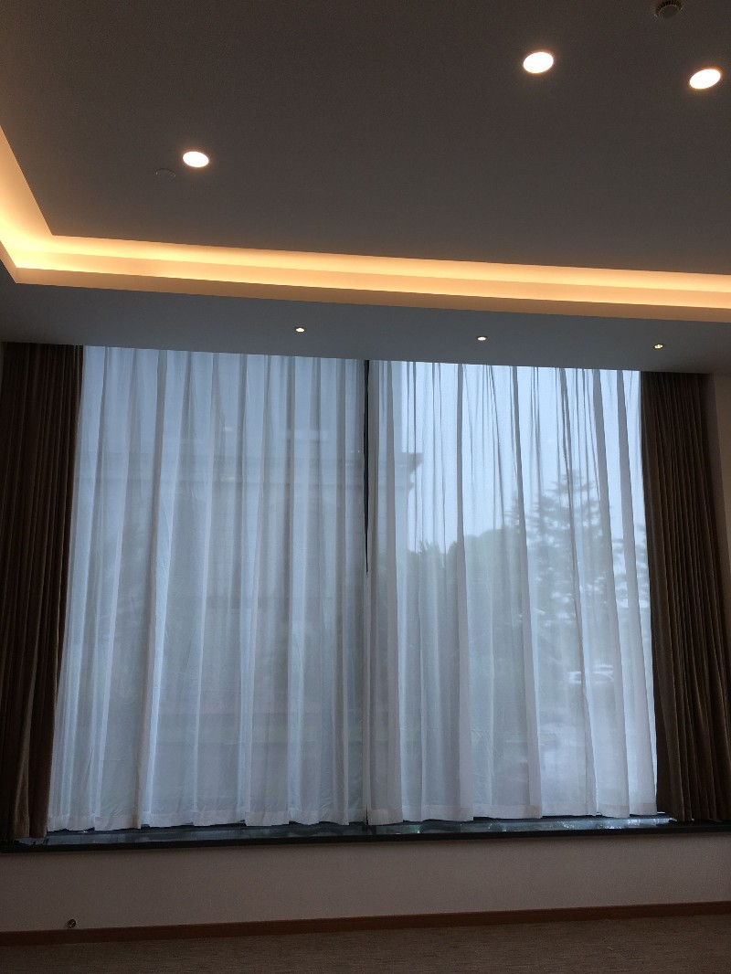 上海宝山定做办公室窗帘 宝山淞南附近窗帘定做公司电动窗帘定做