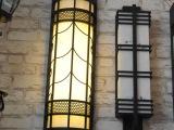厂家直销批发户外壁灯  灯体采用不锈钢,云石透光罩,欢迎采购