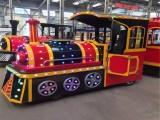 郑州智宝乐游乐设备厂家直销新款仿古无轨火车 儿童无轨小火车