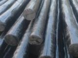 大量供应防腐油木杆6-10米生产厂家