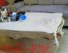 九成新一套皮沙发低价出售 可送货上门