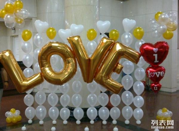 北京年会气球布置,气球造型制作,气球代充氦气