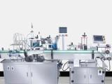 全自动转盘式灌装机包装贴标机