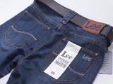 男式牛仔裤品牌男装外贸原单批发纯棉英伦长
