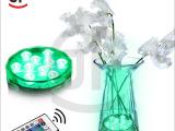 厂家直销10灯遥控防水蜡烛灯 远程无线遥控防水灯 led潜水灯