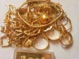 全市高价回收黄金金银首饰铂金钻石银元钯金白银等