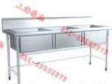 专业生产不锈钢水斗、三眼水池、水槽、星盆