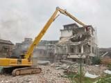 广州增城小松450挖掘机三段拆楼臂