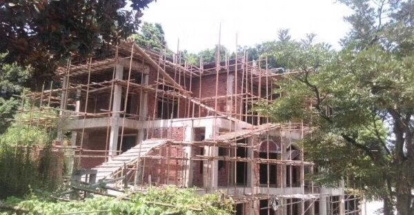 南充高坪自建房 别墅 小洋房 乡镇房屋 景观设计及施工