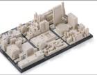 3D打印定制小区沙盘 工业级设备 高精度 高效率 定制服务