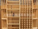 红酒架 木制酒架 实木酒架 酒窖展示架 木架 葡萄酒木架 红酒木