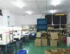 大型工业区楼上300平带装修厂房带地坪漆
