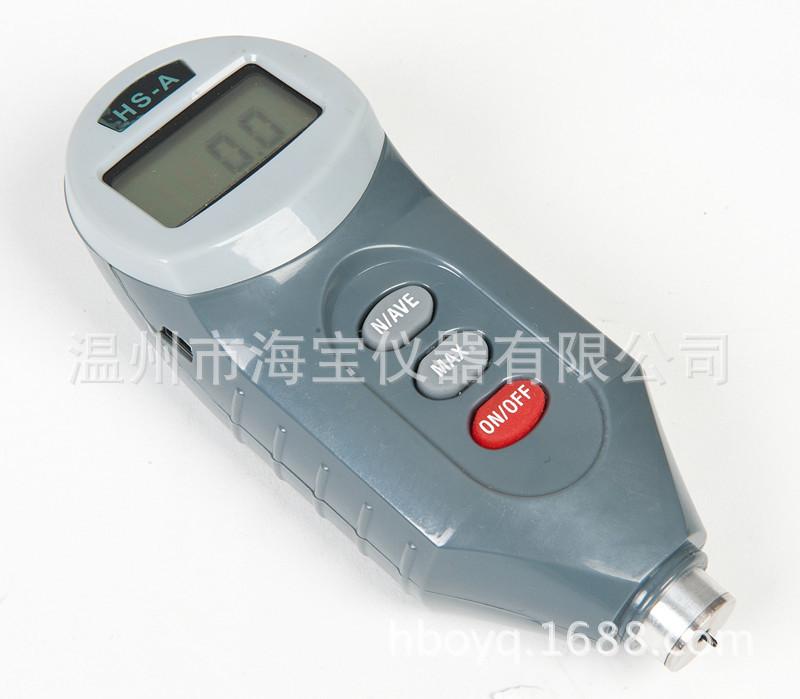 厂家直销  HS-A邵氏A数显橡胶硬度计 适用塑料、合成橡胶行业