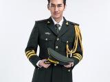 2015年 07陆军士官夏装礼服 仿毛斜纹布耐穿舒适 厂家直销