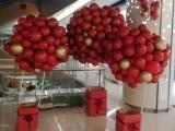 洛阳西工卖场双12气球装饰 涧西双十二气球布置图片