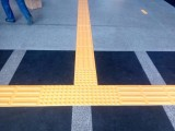 供应塑胶盲道砖pvc盲道砖 盲道板 盲道条厂家直销