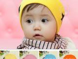 新款 五角星套头帽 婴幼儿帽子 宝宝棉布帽 儿童春秋帽子 批发