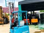 厂家热销二手日本丰田进口0.7吨平衡重式电动叉车