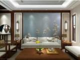 软包木棉花刺绣硬包背景墙壁画le