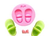 烘焙模具 宝宝鞋子 休闲鞋硅胶翻糖蛋糕模