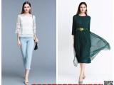 幕希2018年简约春装剪标折扣女装库存服装批发市场