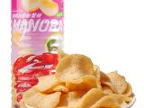 正品泰国进口零食 休闲食品批发 Manora玛努拉 蟹味木薯片