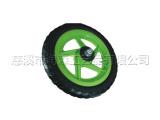 大量生产各种规格颜色高档EVA发泡轮出口环保童车轮胎