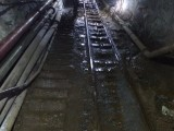 大坡度斜井扒渣机