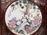 景德镇陶瓷手绘瓷板画 定制各类家居壁画