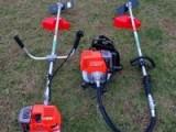 背负式除草机 家用便携式果园松土机 侧挂背负式割草机