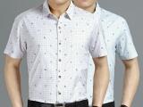 供应批发热卖夏季男装正品短袖衬衣 男士短