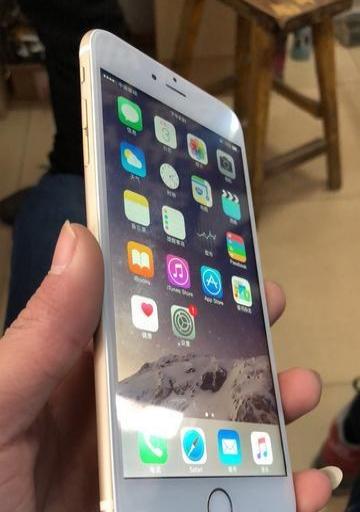 iPhone6plus 64G 金色 iOS8