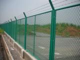 振興生產浸塑護欄網,高速,鐵路護欄網,機場,監獄刀刺繩護欄網