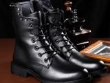 2013秋冬新款棉靴 英伦军靴男鞋 马丁靴工装韩版潮流男靴子批发