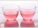 耐高温玻璃 花草茶具 咖啡杯 玻璃杯子 情侣茶