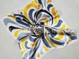 厂家专业生产各种礼品丝巾 职业丝巾外贸出口丝巾印花涤纶小丝巾